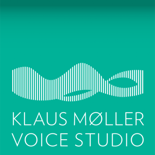 Logo Voice Studio. Stemmetræningsøvelser med stemmetræner Klaus Møller.