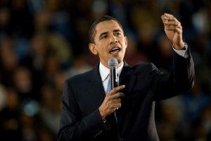 2. Obama på talerstol. Autentisk lederskab m. stor gennemslagskraft. Stemmetræning v Klaus Møller.