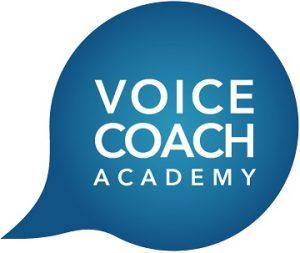 Voice Coach Academy logo. Uddannelse i København v. stemmecoach Klaus Møller