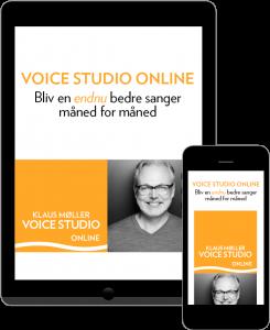Få sangundervisning direkte på din mobil med sangunderviser og sangcoach Klaus Møller.