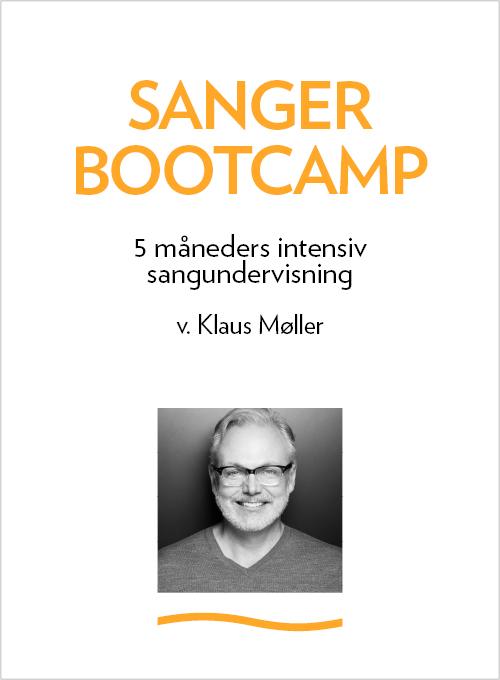 Logo - Sanger Bootcamp v. Klaus Møller. Sanger uddannelse m. sangteknik, sangøvelser og sangtræning
