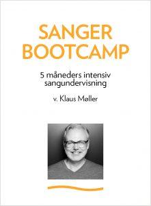 Logo Sanger Bootcamp. 5 mdr's intensiv sangundervisning i København med Klaus Møller.
