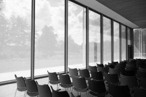 Foredragssal. Foredrag ved stemmetræner Klaus Møller